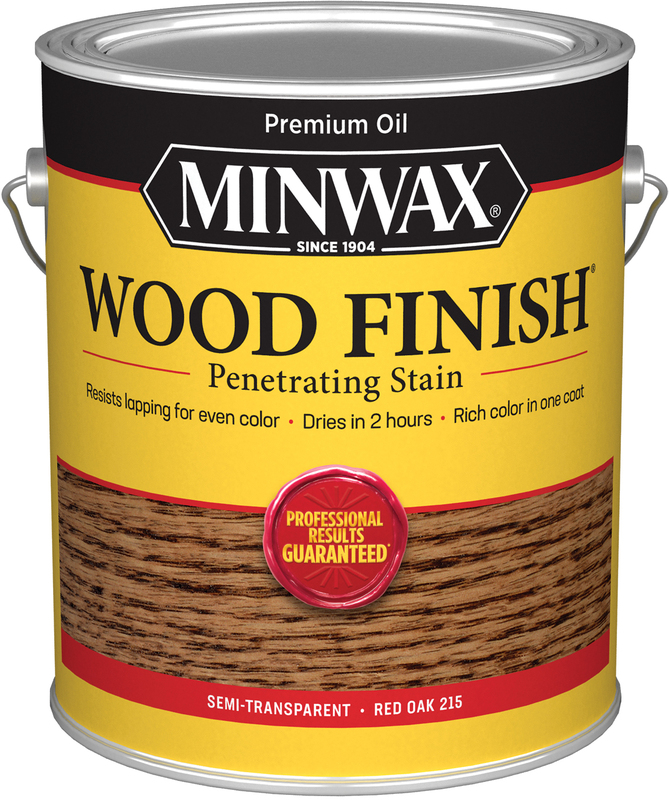 1-GALLON RED OAK WOOD STAIN