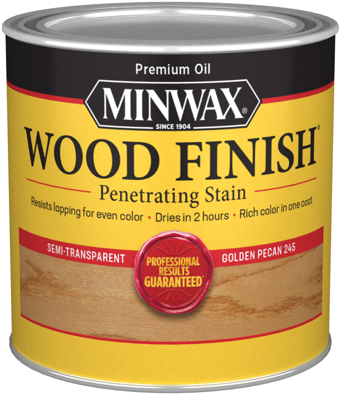 Half Pint Golden Pecan Interior Stain