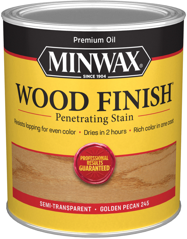 Quart Golden Pecan Wood Stain