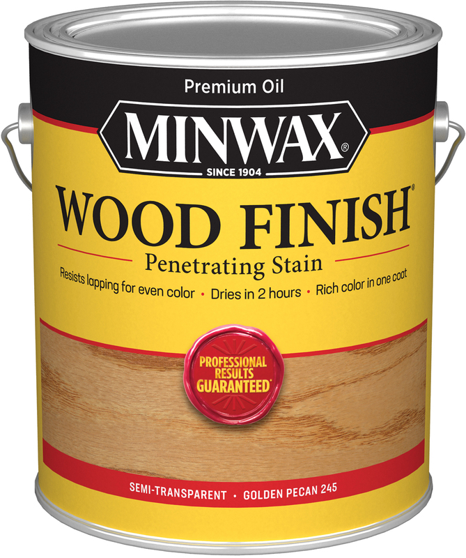 1-GALLON GOLDEN PECAN WOOD STAIN