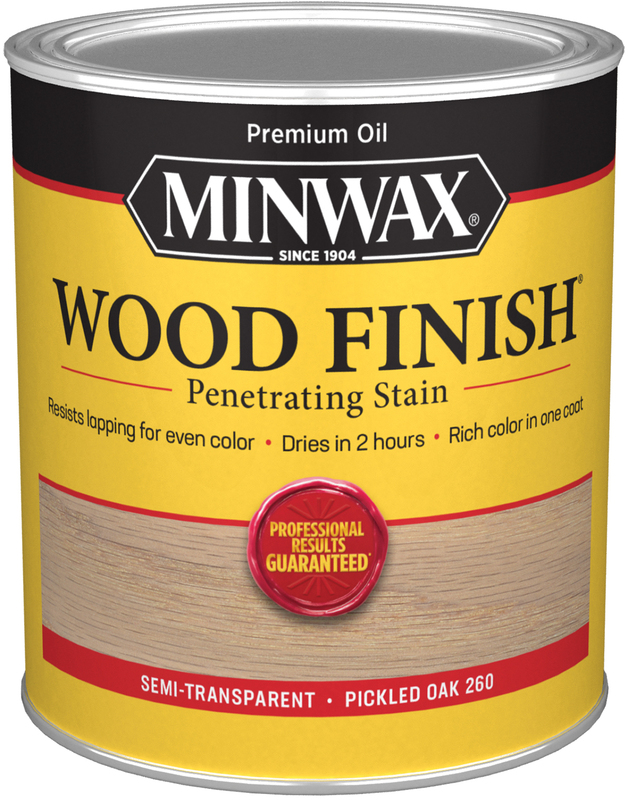 Quart Pickled Oak Wood Stain