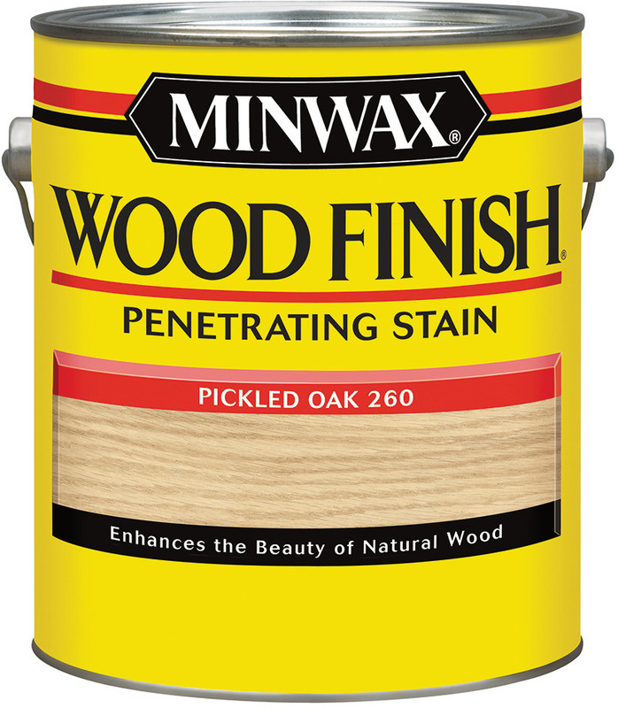 1-GALLON PICKLED OAK WOOD STAIN