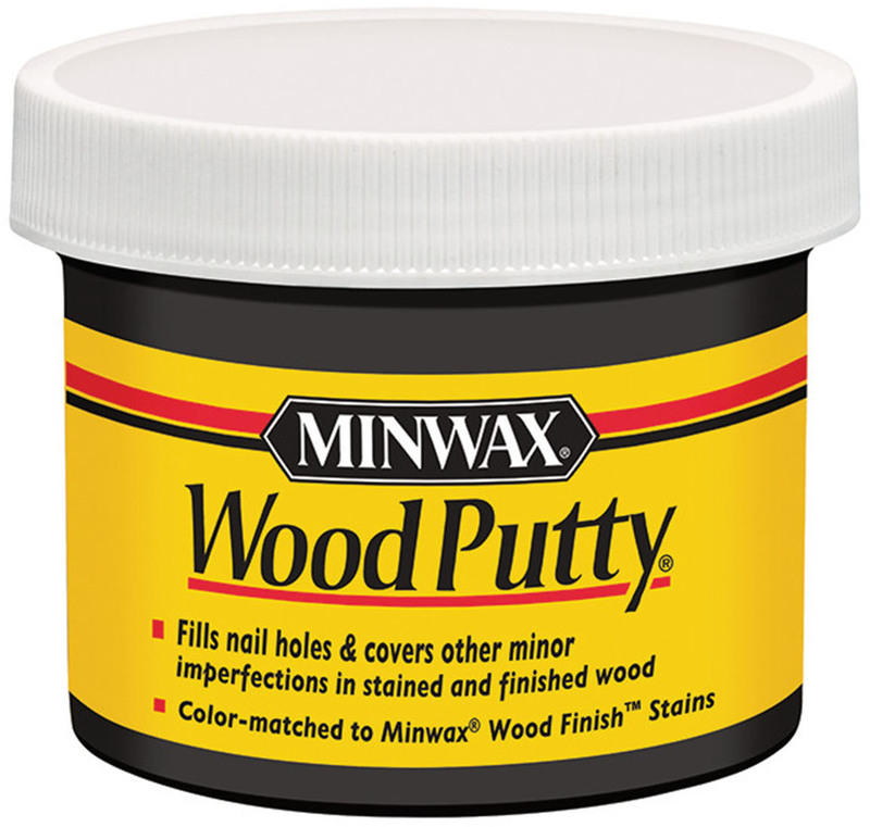 13618 QP EBONY WOOD PUTTY