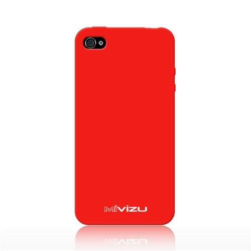 MIVIZU CIPH4MVZWRPRD00 RED SKIN COVER IPHONE4 4S 4GS