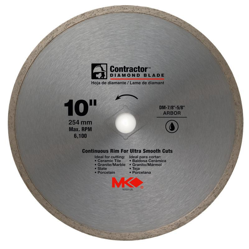 167031 10 IN. DIAMOND SAW BLADE