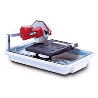 MK Diamond 160028 Corded Tile Saw, 120 V, 5 A, 1/2 hp, 7 in Blade, 5500 rpm