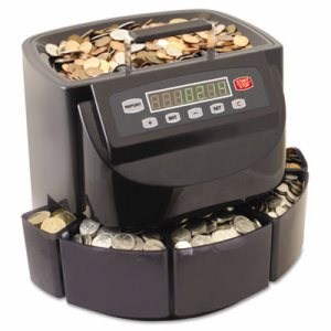Coin Counter/Sorter, Pennies through Dollar Coins