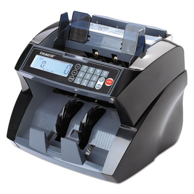 4820 Bill Counter with Counterfeit Detection, 1900 Bills/Min, Black