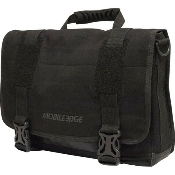 "MOBILE EDGE MEUME1 14.1"" PC/15"" MacBook Pro ECO Ultrabook Messenger Bag (Black)"