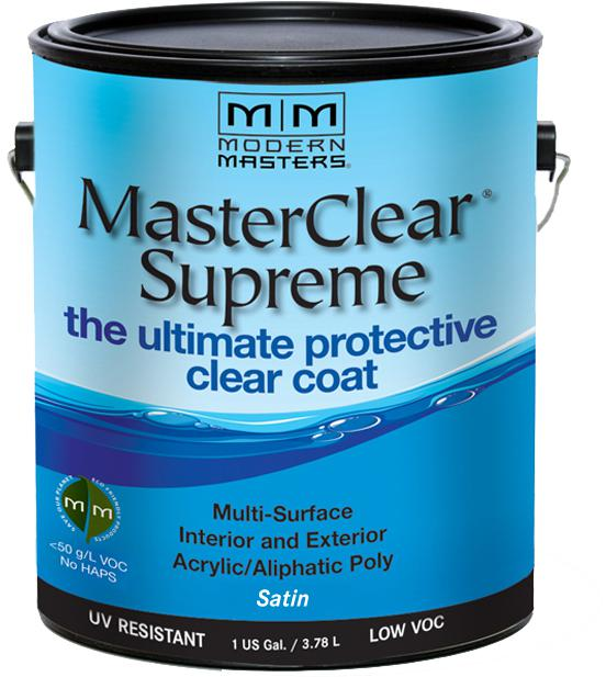1 Gal. MasterClear Supreme Protective Clear Coat, Satin