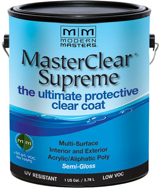 1 Gal. MasterClear Supreme Protective Clear Coat, Semi-Gloss