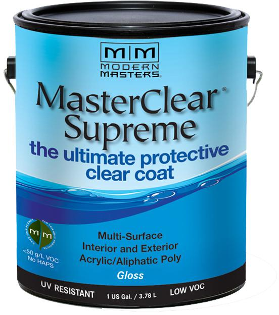 1 Gal. MasterClear Supreme Protective Clear Coat, Gloss