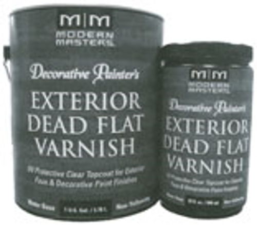 Dp612-Gal Exterior Dead Flat Varnish, 1-Gallon