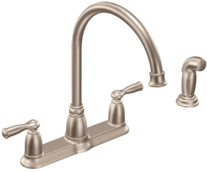 Kitchen Faucet 2-Handle Arc Spray