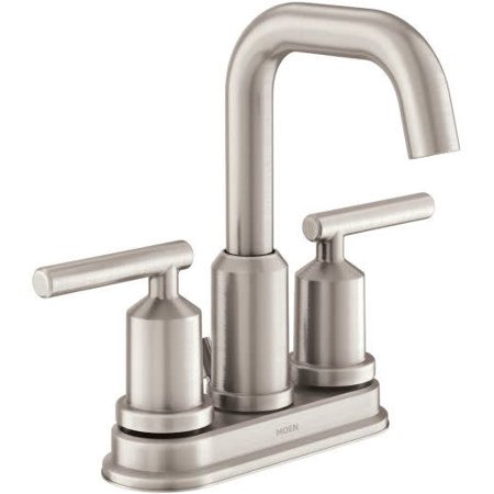 FAUCET BATHROOM HI-ARC NICKEL