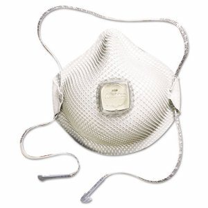 2700N95 Series HandyStrap Respirator, Half-Face Mask, Medium/Large, 10/Box