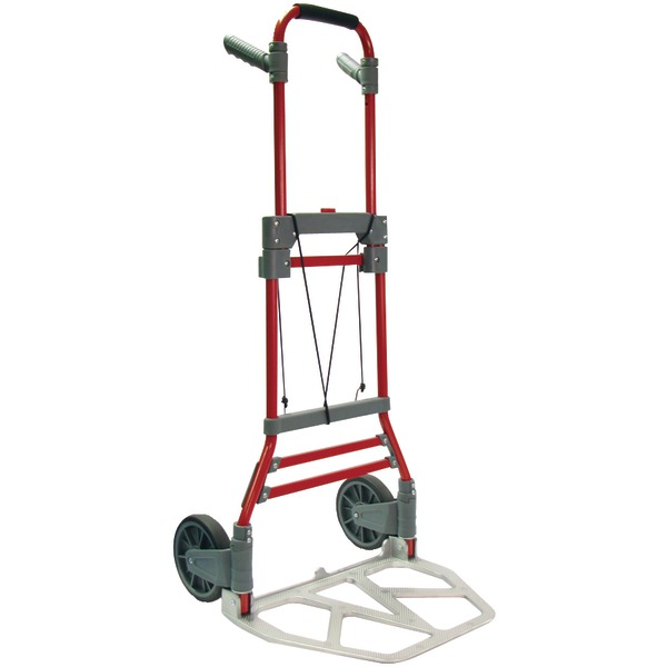 Monster Trucks H-003B-2RED Husky Foldable Hand Truck