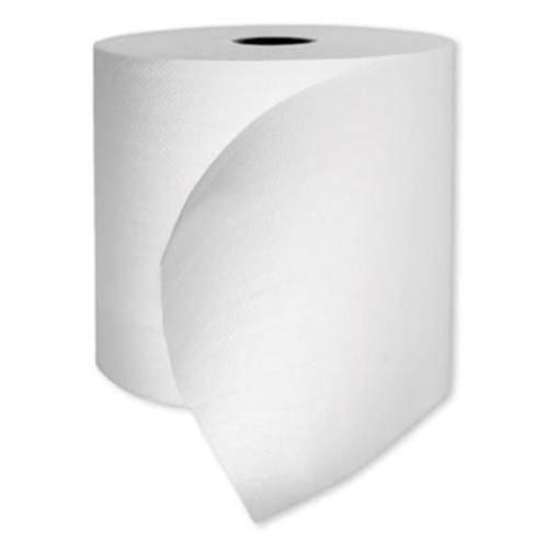 "Morsoft Universal Roll Towels, 1-Ply, 8"" x 700 ft, White, 6 Rolls/Carton"