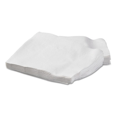Dispenser Napkins, 1-Ply, 12 x 17, White, 250/Pack, 24 Packs/Carton