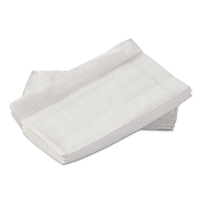 "Napkins, Dispenser, Paper, 1-Ply, 12"" x 13"", White, 250/Pack, 24 Packs/Carton"