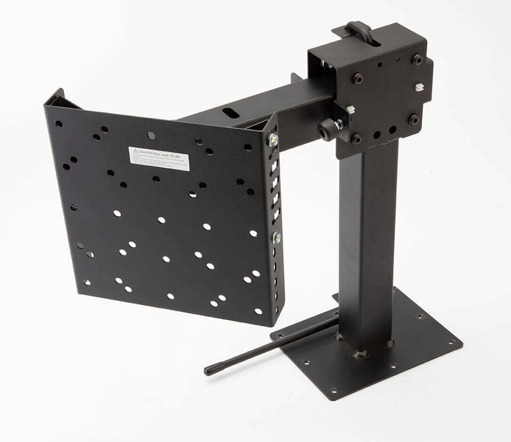 MORryde Slide-Out & Swivel TV Base Mount (Tall)