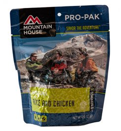 Mountain House Pro Pak, Rice And Chicken