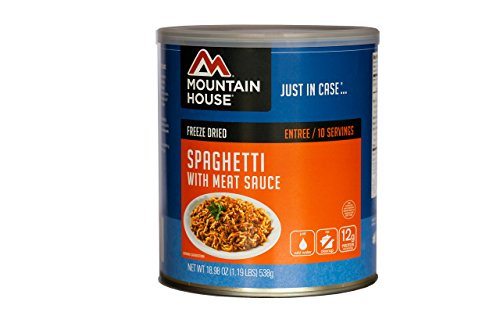 Mountain House #10 Can, Spaghetti w/ Meat Sa