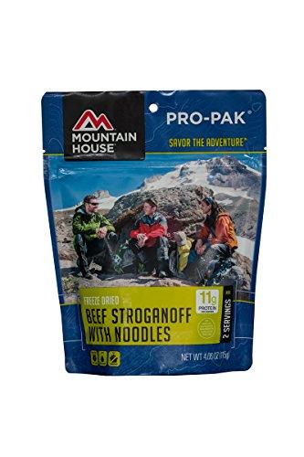 Mountain House Pro Pak, Beef Stroganoff