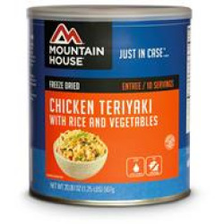 Mountain House #10 Can, Chicken Teriyaki w/
