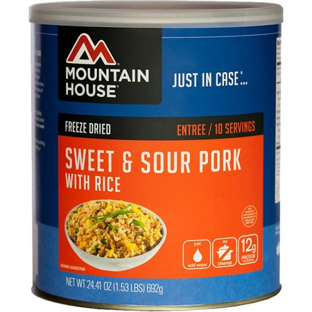 Mountain House #10 Can, Sweet & Sour Pork/Ri