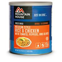 Mountain House #10 Can, Mexican Chicken w/ R