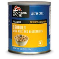 Mountain House #10 Can, Granola/Blueberry &