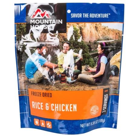 Mountain House EntrTe, Rice And Chicken