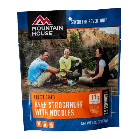 Mountain House EntrTe, Beef Stroganoff