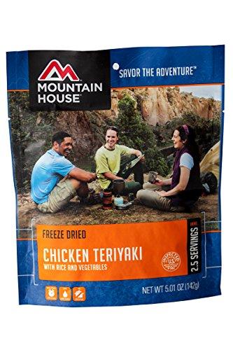 Mountain House EntrTe, Chicken Teriyaki w/ R