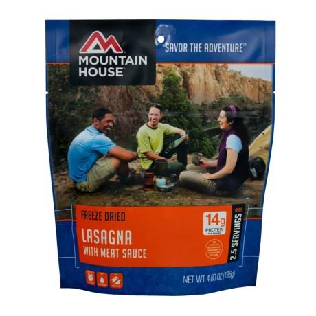 Mountain House EntrTe, Lasagna w/ Meat Sauce