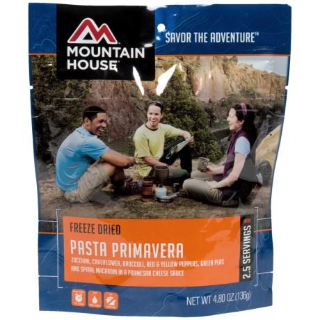 Mountain House EntrTe, Pasta Primavera