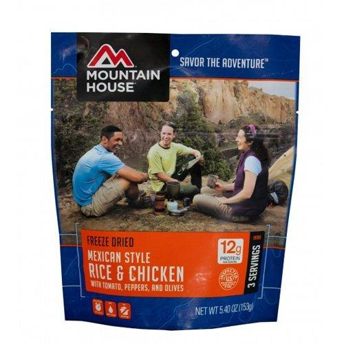 Mountain House EntrTe, Mexican Chicken w/ Ri