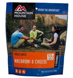 Mountain House EntrTe, Mac & Cheese