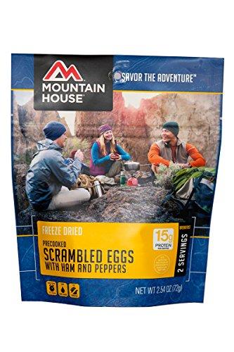 Mountain House EntrTe, Scrambled Eggs w/ Ham