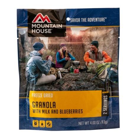 Mountain House EntrTe, Granola w/ Blueberry