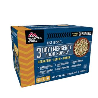 Mountain House Emergency Food Supply, 3-Day