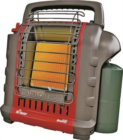 Buddy F232050 Portable Heater, 4000/9000 BTU, 200 sq-ft