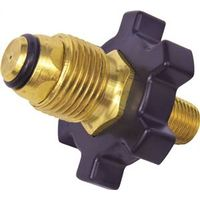 Mr Heater F276129 Cylinder Adapter, 9/16 in Left Hand Thread X Prest-O-Lite