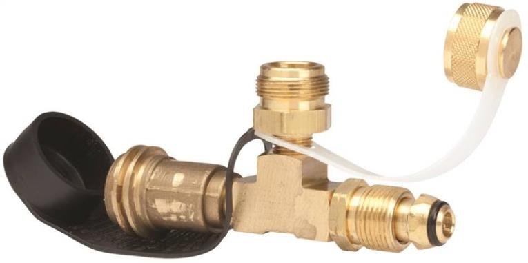 Mr Heater F273751 Adapter Tee, 1-20 Male Thread X Prest-O-Lite, For Use With Propane Heaters
