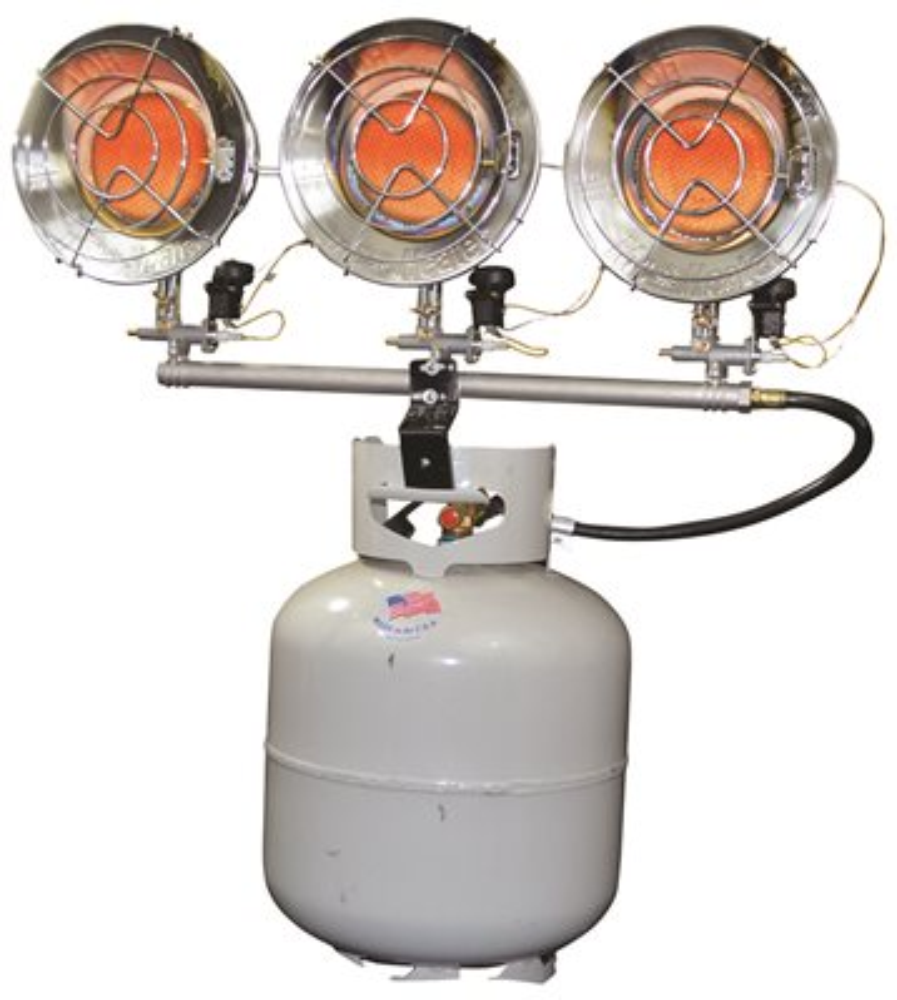Mr Heater Triple Tank Top 10000 - 45000 BTU Liquid Propane Heater