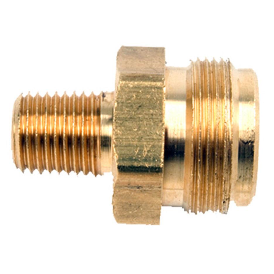 Mr Heater 1/4 Inch Male Pipe Thread x 1 Inch-20 Male Throwaway Cylinder Thread