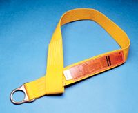 MSA 5' Nylon Anchorage Connector Strap With D-Ring On One End And Sewn Loop On The Other