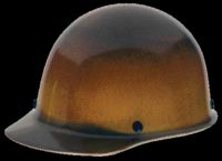 MSA Natural Tan Skullgard+ Class G Type I Hard Cap With Swing-Ratchet Suspension