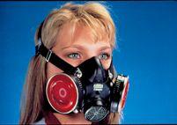 MSA Large Black Hycar Rubber Comfo Classic+ Half Mask Facepiece